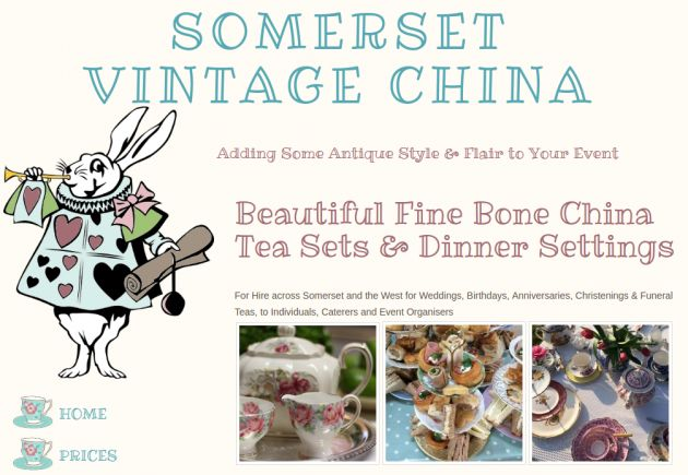 Somerset Vintage China Screen